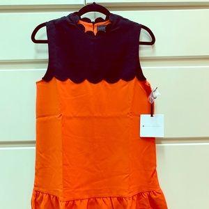 Victoria Beckham for Target Orange and Black Dress